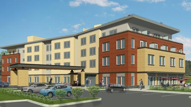 The Hotel at Independence Landing is the latest development in a broader effort to revitalize the city's historic downtown.