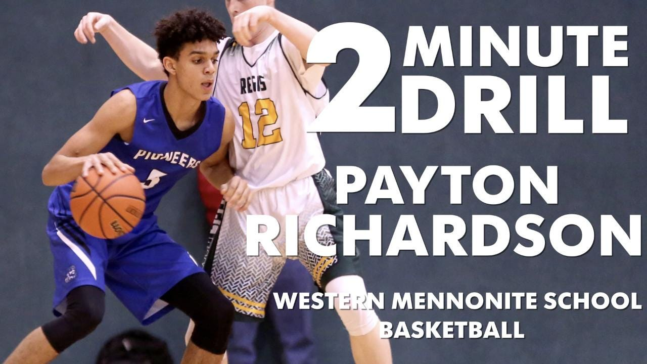Payton Richardson, a sophomore Western Mennonite basketball player, talks Lebron James vs. Michael Jordan, video games and Puerto Rico.