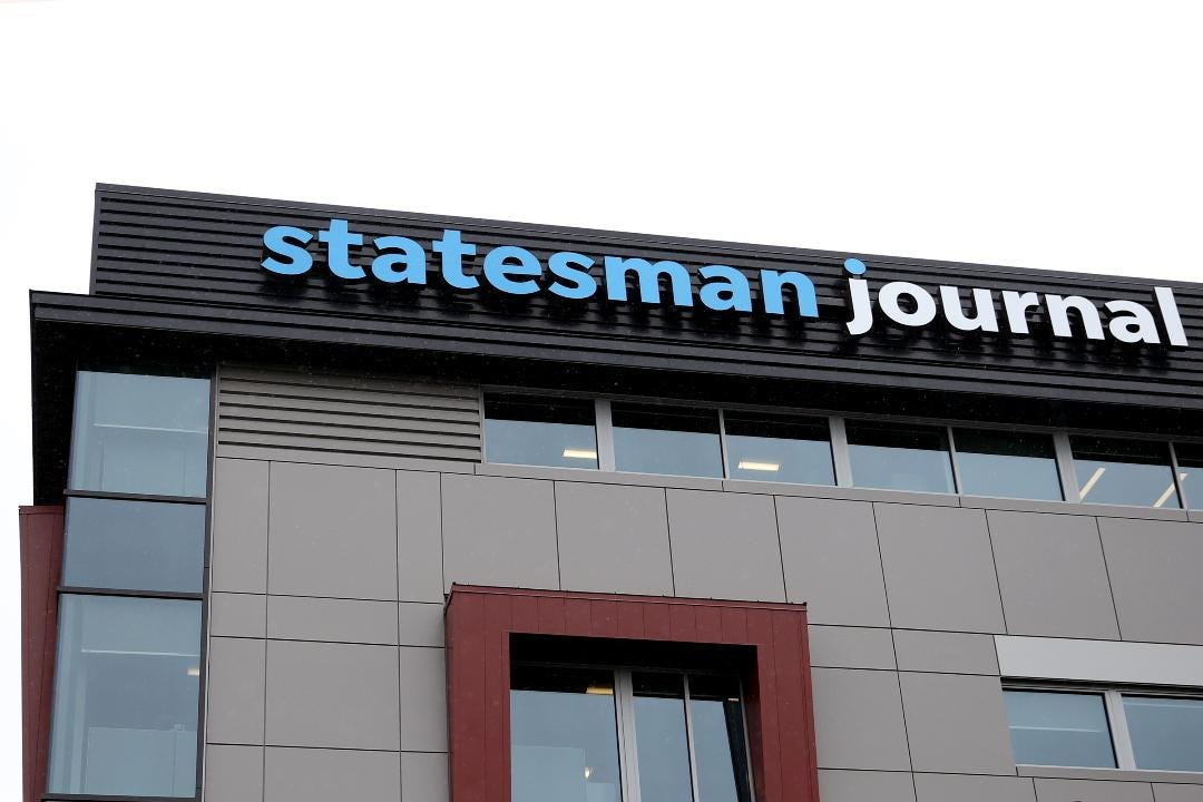 See the Statesman Journal's new home at 340 Vista Ave. SE in Salem.