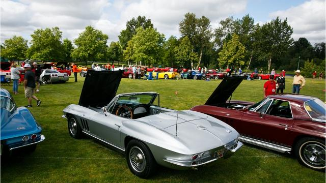 The Willamette Valley Corvette Association hosted its first Corvettes at the Carousel event on Saturday, June 16, 2018, at Riverfront Park.