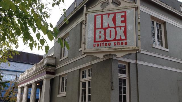 IKE Box serves more than just coffee inside this former funeral home on the corner of Chemeketa and Cottage streets NE in downtown Salem.