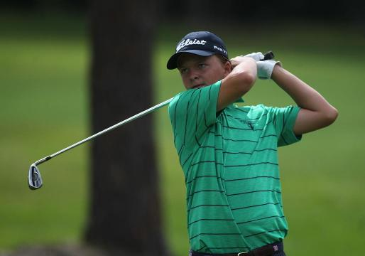 WATCH IT: youth golfer Parker Bell demonstrates putting