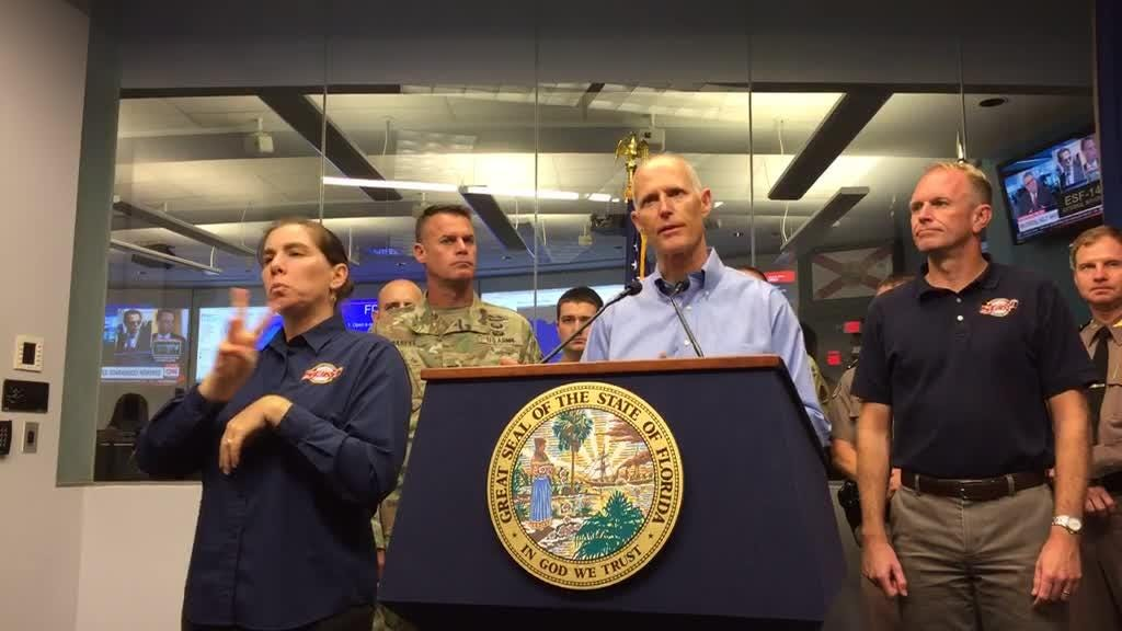 Watch it: Gov. Rick Scott gives update on Tropical Storm Emily