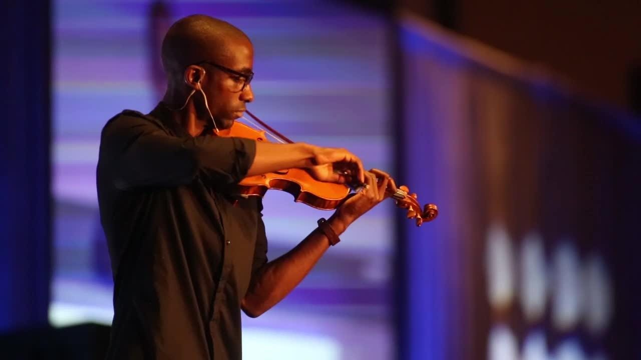 Kai Kight shares the lessons of a composer as a keynote speaker at the Greater Tallahassee Chamber of Commerce's 2017 Community Conference held at the Omni Amelia Island Plantation august 12.