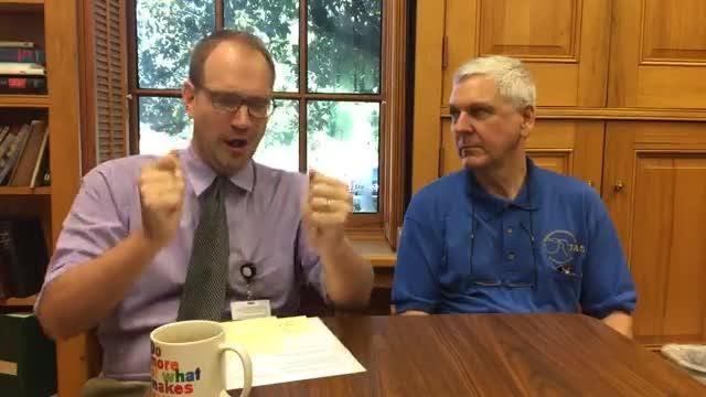 SkyGuy Ken Kopczynski talks to Editor William Hatfield about the upcoming eclipse.