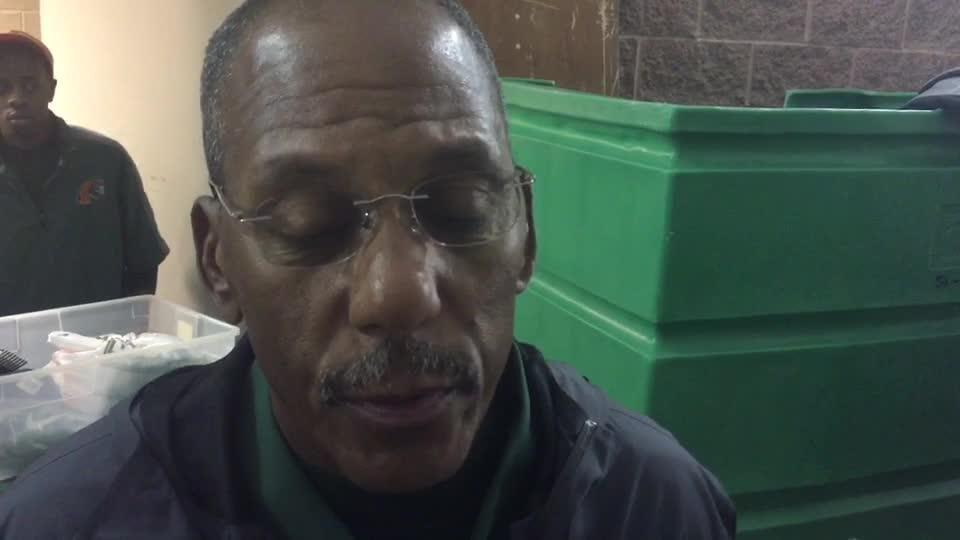 Watch it: FAMU head coach Alex Wood recaps loss to Arkansas