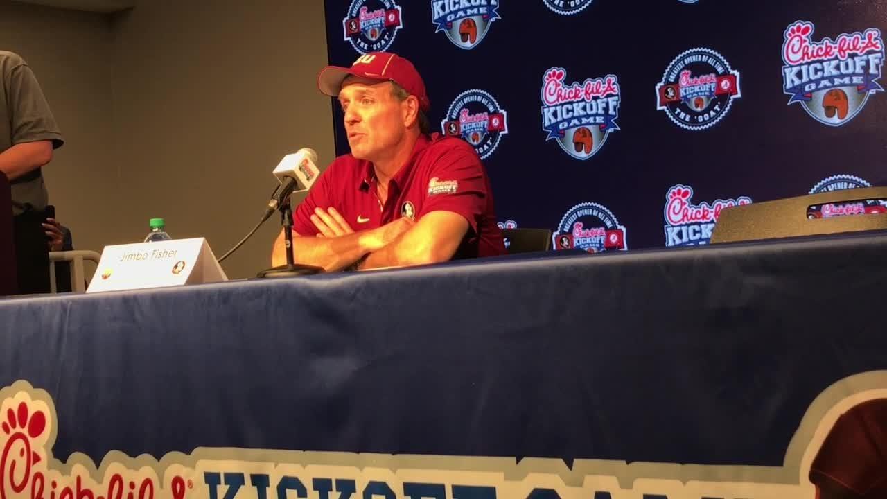 Watch it: FSU coach Jimbo Fisher talks loss to Alabama