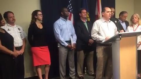 Watch it: County and city officials detail local preparations for Irma