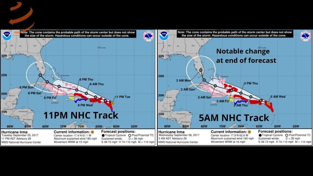 Watch it: WeatherTiger Irma update (Sept. 6, morning)