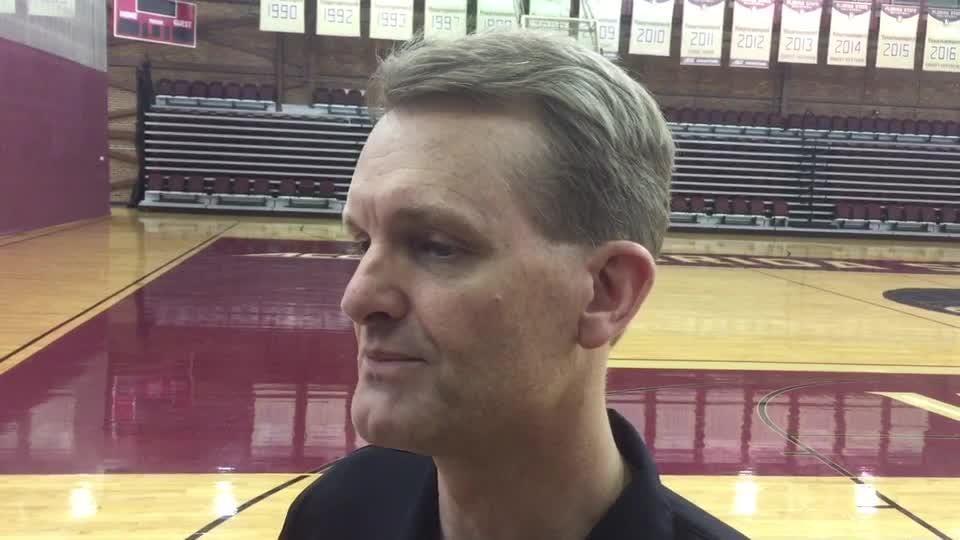 Watch it: FSU volleyball coach Chris Poole on team's start