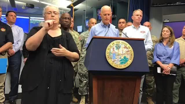 Watch it: Gov. Scott on Hurricane Irma (Sept. 6)