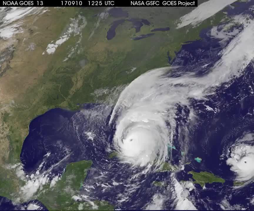 Watch it: Satellite animation sees Irma move through Florida