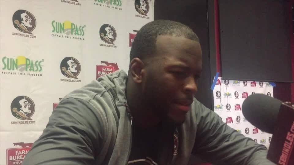 Watch it: FSU's Jacques Patrick discusses loss to NC State