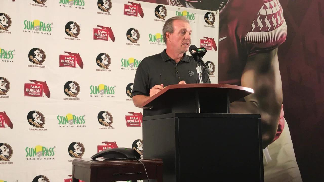 Watch it: FSU coach Jimbo Fisher Miami week press conference