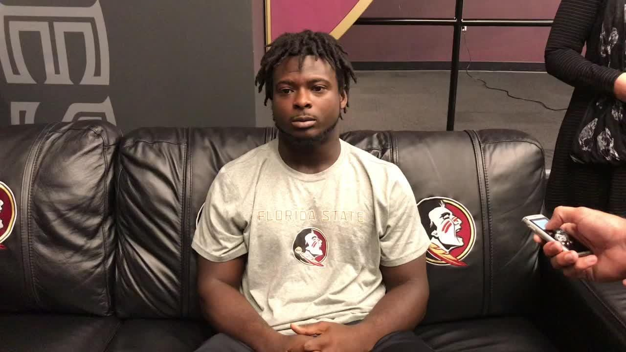Watch it: Fullback Johnathan Vickers on FSU-Miami