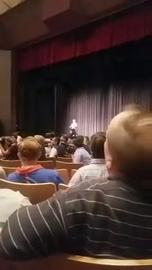 Watch it: Richard Spencer is officially taking the stage