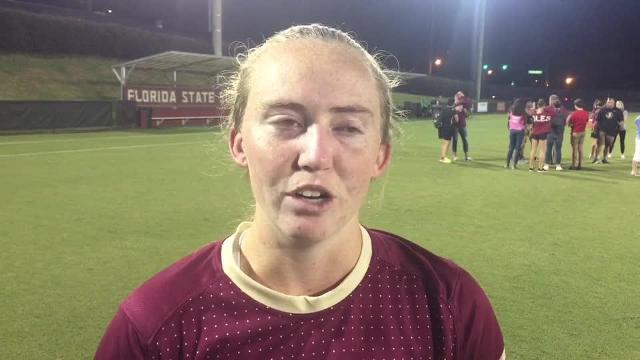 Watch it: FSU goalkeeper Cassie miller on loss to Notre Dame