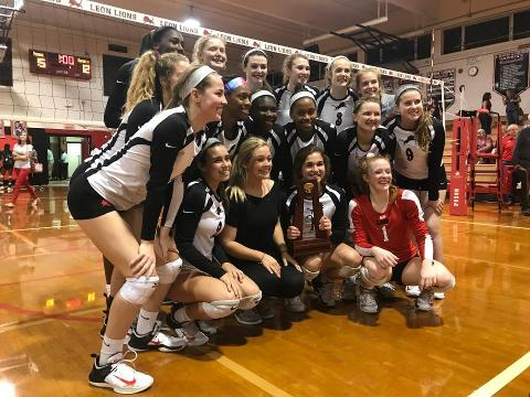 WATCH: Leon vs. Lincoln, District 2-8A volleyball