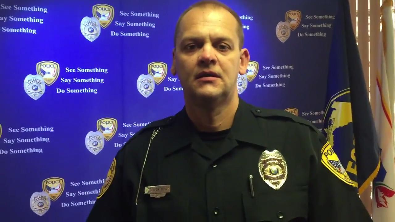 TPD's David Northway on bystanders' help in domestic arrest