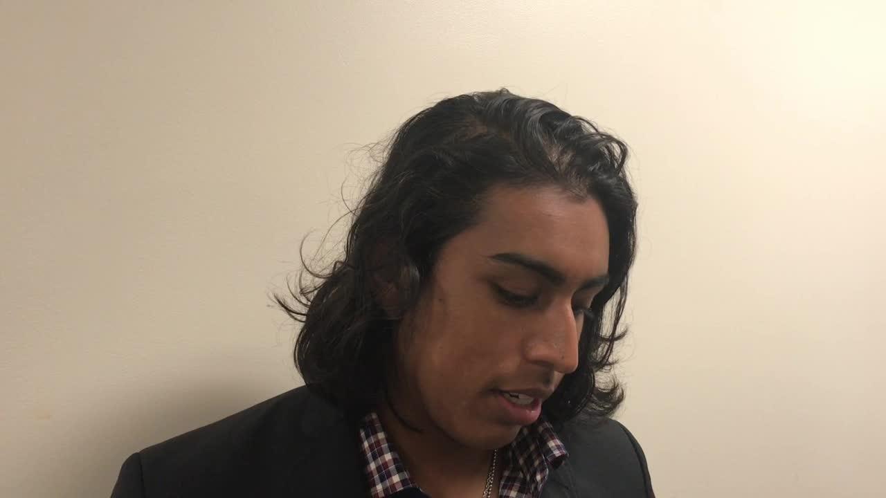 Watch it: FSU kicker Ricky Aguayo talks after loss to Boston College