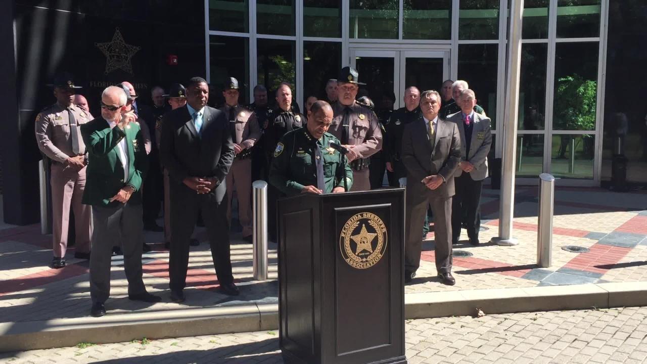 Leon County Sheriff Walt McNeil announces FHP assistance in fight against crime.
