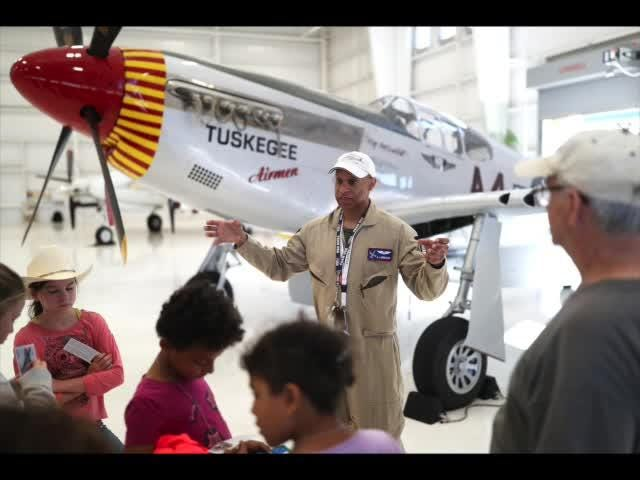 A.J. Brickler talks about the uplifting message of the Tuskegee Airmen