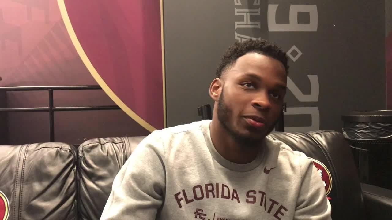 Florida State cornerback Levonta Taylor talks Clemson, his play this year, and more.