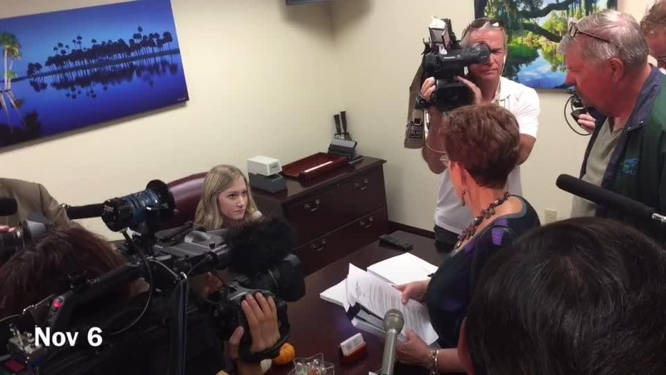 12,000 petitions calling Rick Scott inept were delivered to the Speaker and Senate President's offices. Groups want Scott investigated in connection with 14 nursing home deaths