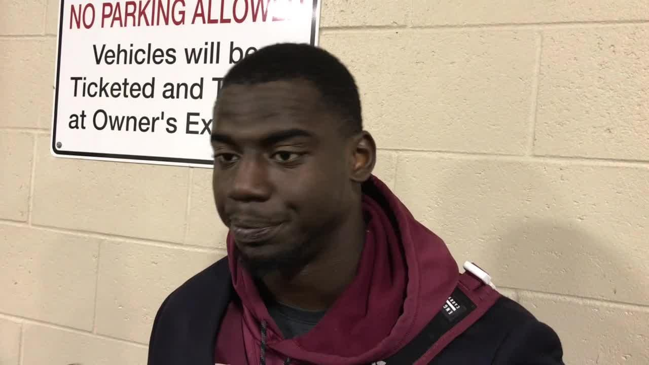 Watch it: FSU LB Matthew Thomas talks after FSU's loss to Clemson
