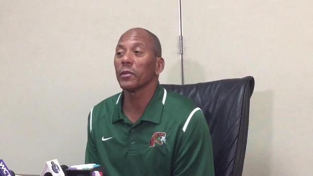 Watch it: FAMU head coach Alex Wood previews Bethune-Cookman