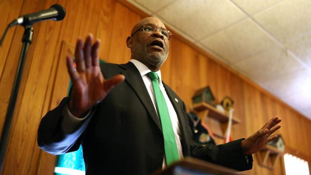 Watch it: John Eason is introduced as FAMU's interim athletic director