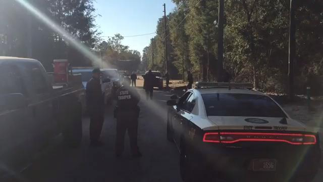 Raw video: Officials search for escaped inmates in Wakulla
