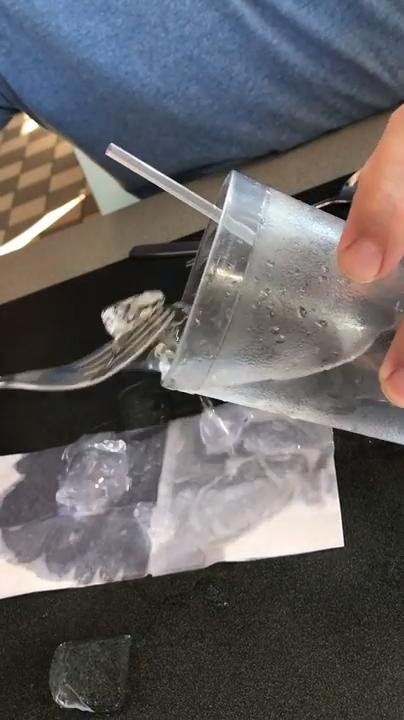 A Tallahassee couple found a frog in a glass of ice water at the Waffle House off U.S. Hwy 90 near Interstate 10.