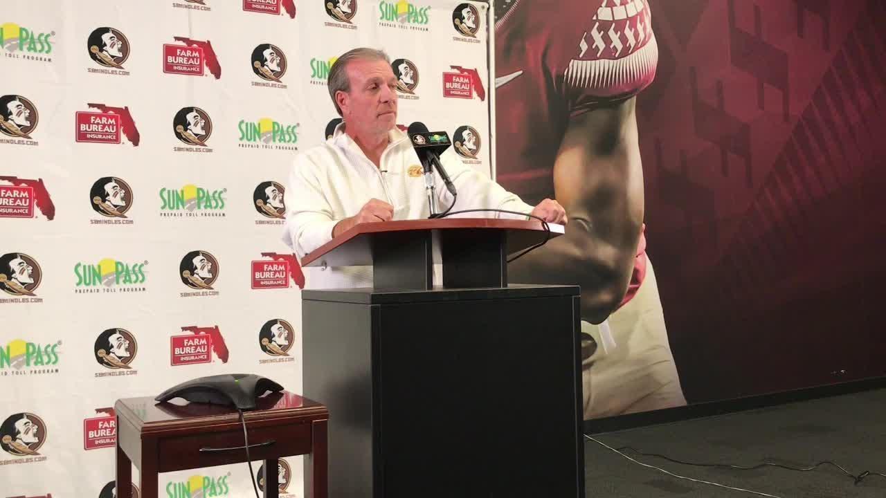 Watch it: FSU coach Jimbo Fisher previews Florida match-up