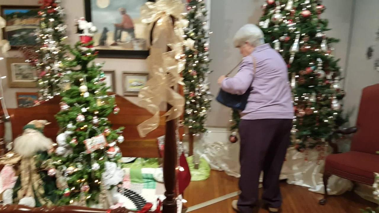 Christmas trees, ornaments and art galore!