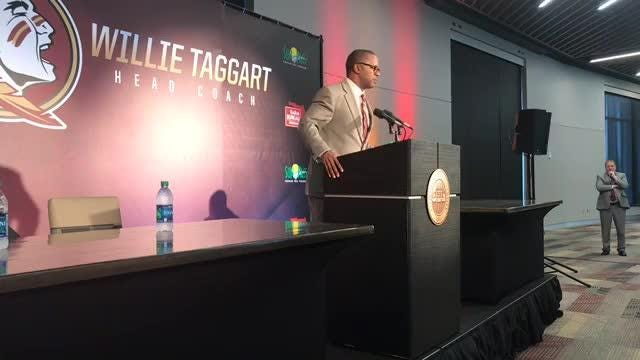 Watch it: Willie Taggart's introductory press conference