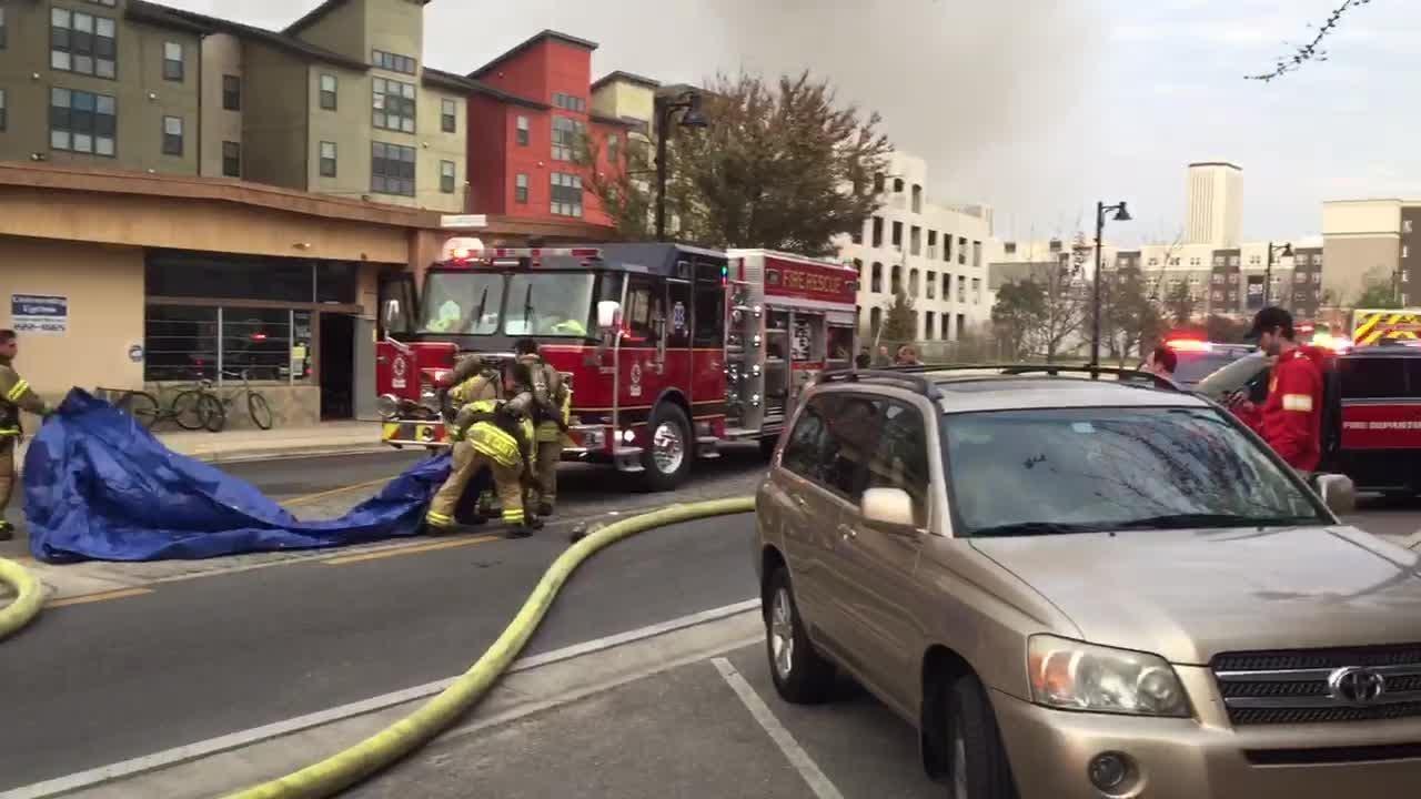 Watch it: TFD crews battle fire at International Book MIne
