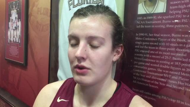 Watch it: Chatrice White talks Texas loss, prep for Creighton