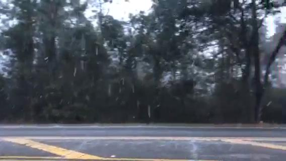 Watch it: Snow on Bannerman Road