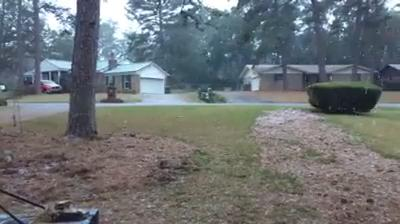Watch it: Snow in Killearn Estates