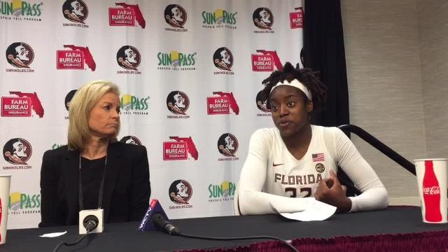 Watch it: FSU coach, players after win over UNC