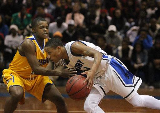 WATCH: Rickards-Godby hoops action