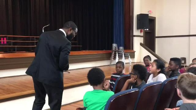 Watch it: Cairo Mayor Elect Booker Gainor talks to students at Southside Elementary