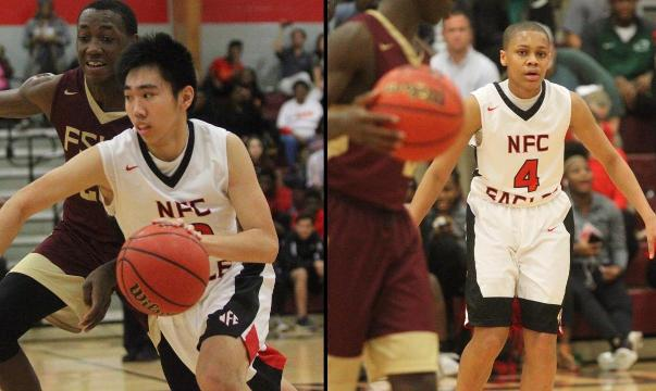 WATCH: NFC guards Chris Pham, Victor Clark
