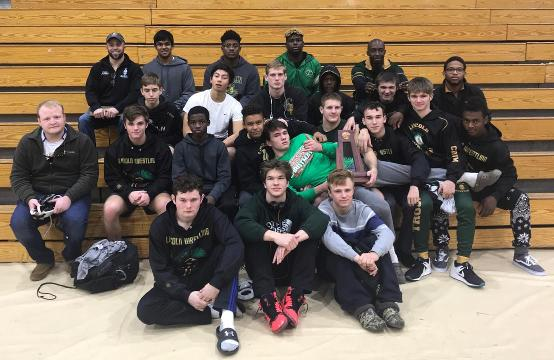 WATCH: Lincoln wrestling qualifies for duals state