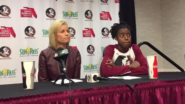 Watch it: FSU head coach Sue Semrau on win over Va. Tech