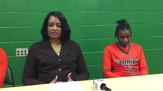 Watch it: FAMU women's coach, players after win over Del. State