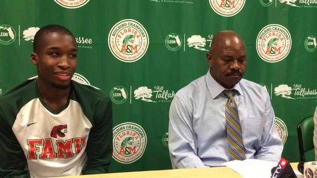 Watch it: FAMU men's coach, players on win over Del. State