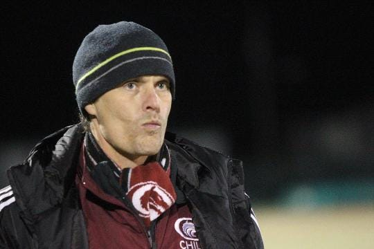 WATCH: Chiles soccer coach Bryan Wilkinson