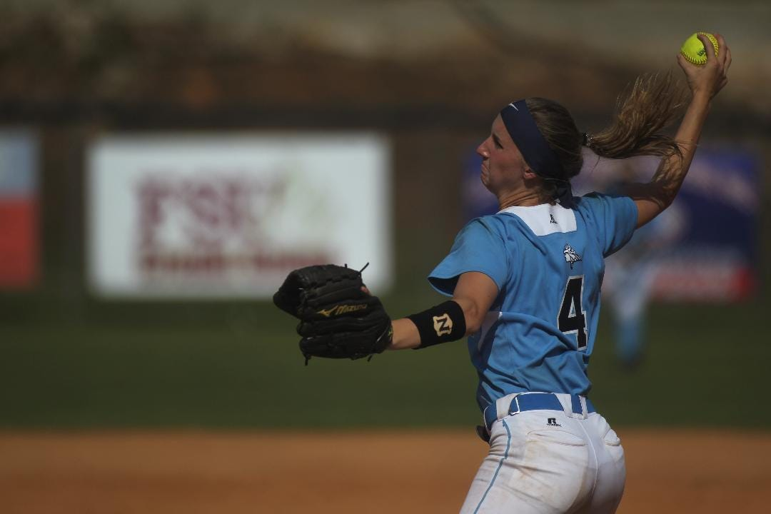 Maclay senior softball pitcher Kenzie Mullins talks about starting K's for Kids to raise money for St. Jude Children's Research Hospital in Memphis.